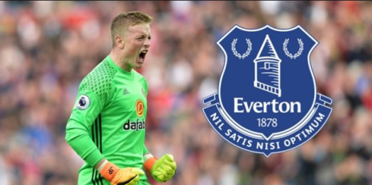 pickford everton