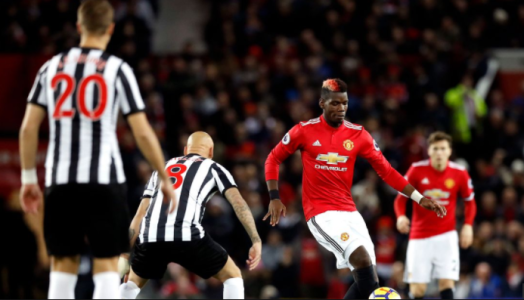 pogba vs newcastle